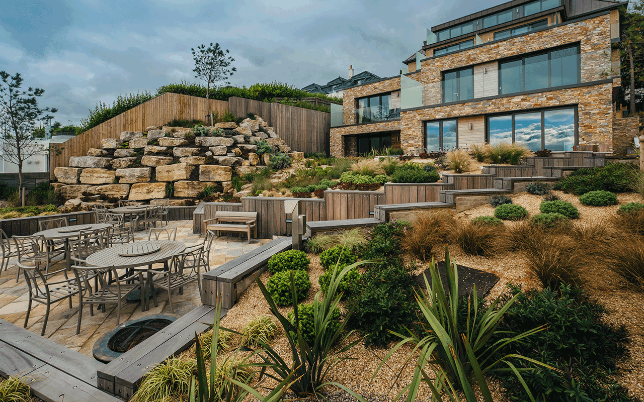 Great to get positive feedback this week for the Camlins designed Sea Garden at #TheLandings, Sandbanks from a happ… twitter.com/i/web/status/9…