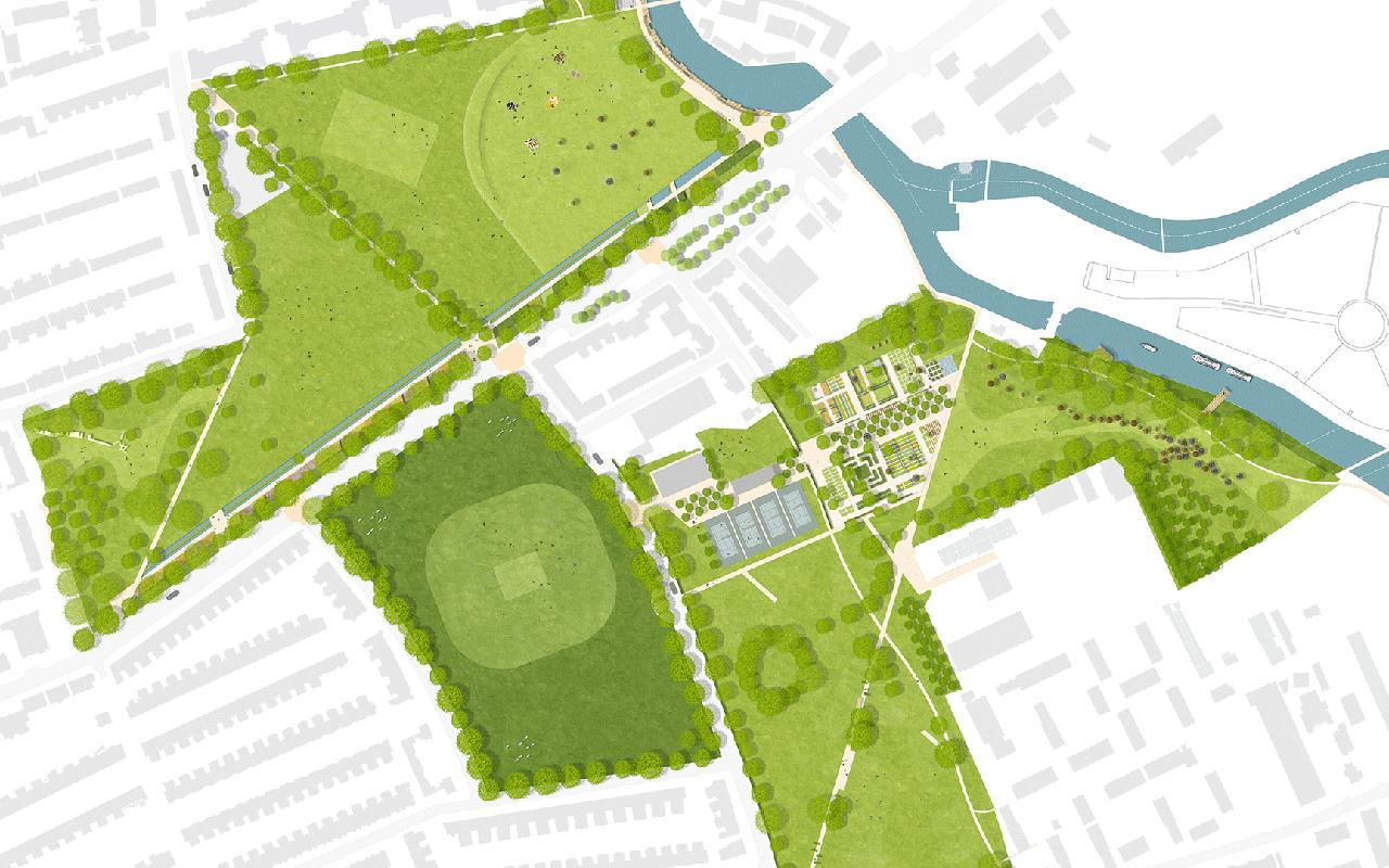 Millfields Park, Hackney