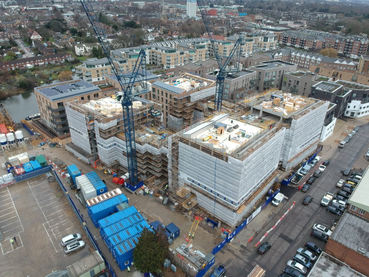 Great to see progress on site at #Brentford. twitter.com/McAleerRushe/s…